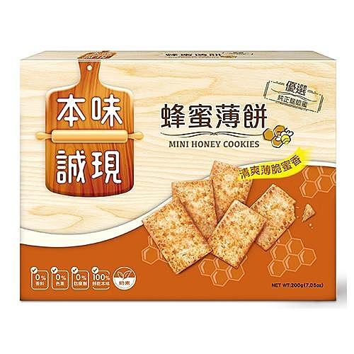 本味誠現蜂蜜薄餅200g【愛買】