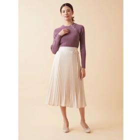 [マルイ]【セール】小花柄ジャガードサテンプリーツスカート/ファビュラスアンジェラ(Fabulous Angela)