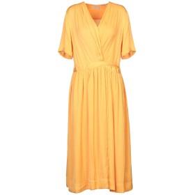 《セール開催中》MAISON SCOTCH レディース 7分丈ワンピース・ドレス オレンジ XS ポリエステル 100%