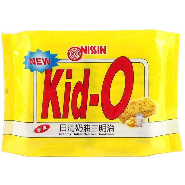 Kid-O 日清 奶油三明治 350g【康鄰超市】