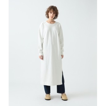 Pilgrim Surf+Supply R JUBILEE / Back Lace-up Sweatshits Dress レディース ワンピース OFF WHT S