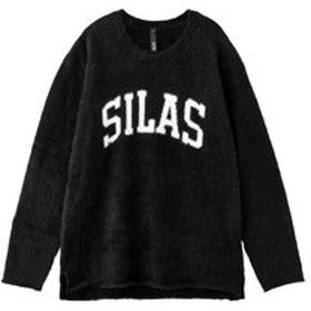 【SILAS:トップス】FEATHER KNIT LOGO