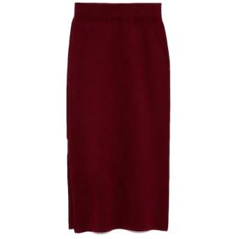 【エミ/emmi】 【emmi atelier】タスマニアウールニットスカート