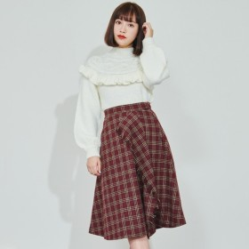 [マルイ]【セール】フリンジラッフルスカート/ティティ-アンドコー(titty & Co.)