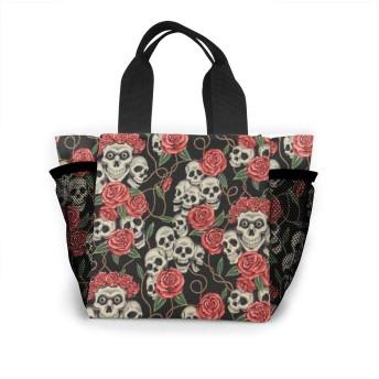 生きている頭蓋骨 トートバッグ おしゃれ レディース バッグ 買い物バッグ ランチバッグ エコバッグ ハンドバッグ