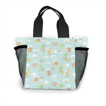 かわいい象 トートバッグ 買い物バッグ レディース おしゃれ バッグ ハンドバッグ エコバッグ 人気 ランチバッグ