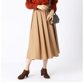 【COMME CA ISM:スカート】ギャザースカート