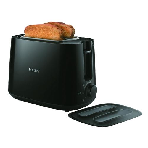 PHILIPS 飛利浦 HD2582 電子式 智慧型 厚片烤 麵包機 黑色