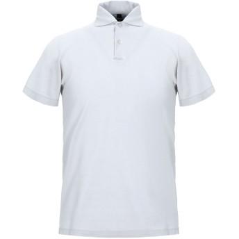 《セール開催中》LA FILERIA メンズ ポロシャツ ライトグレー 46 コットン 100%