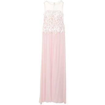 《セール開催中》BLUMARINE レディース ロングワンピース&ドレス ピンク 42 シルク 100% / ナイロン