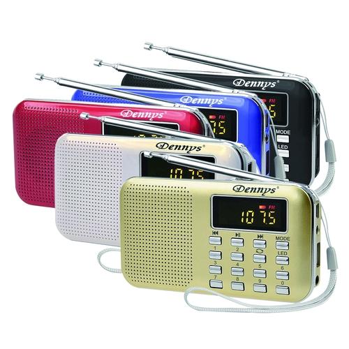 Dennys MS-K218 超薄長時隨身聽-