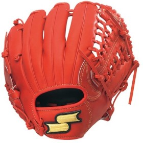 エスエスケイ SSK 野球 少年軟式用グラブ スーパーソフト オールラウンド用 SSJ971F 20 レッド