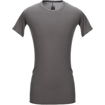 《セール開催中》RICK OWENS メンズ T シャツ グレー S コットン 100%