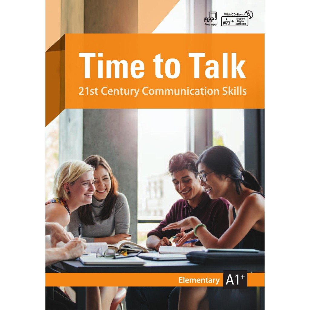 Time to Talk (A1+/Elementary)(with CD-ROM)