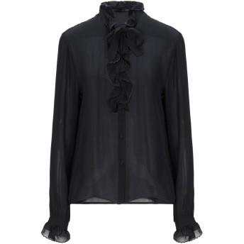 《セール開催中》ETRO レディース シャツ ブラック 42 シルク 100% / レーヨン
