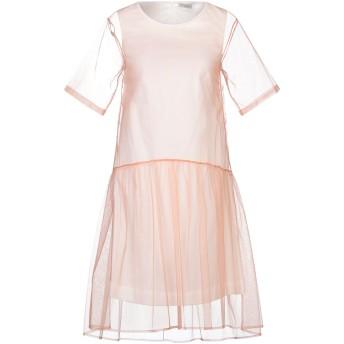 《セール開催中》CAPPELLINI by PESERICO レディース ミニワンピース&ドレス ローズピンク 42 コットン 97% / ポリウレタン 3%