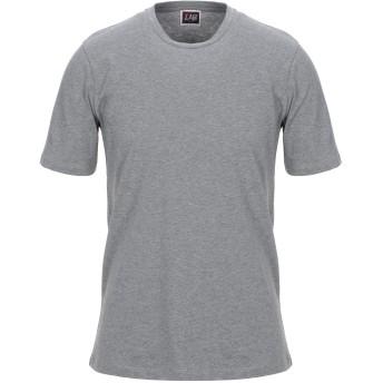 《セール開催中》LAB. PAL ZILERI メンズ T シャツ グレー 50 コットン 100%