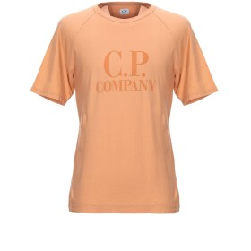 《セール開催中》C.P. COMPANY メンズ T シャツ オレンジ M コットン 100%