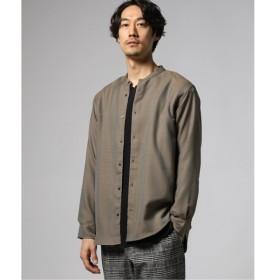[マルイ]【セール】メンズシャツ(ヘザーテックツイル バンドカラーシャツ)/ジャーナルスタンダード(メンズ)(JOURNAL STANDARD MEN'S)
