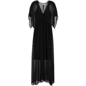 《セール開催中》TRAFFIC PEOPLE レディース ロングワンピース&ドレス ブラック XS ポリエステル 100%