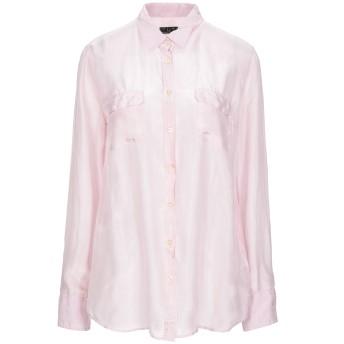 《セール開催中》FRED PERRY レディース シャツ ピンク XL シルク 100%