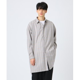 tk.TAKEO KIKUCHI(ティーケー タケオ キクチ) TRロングシャツコート