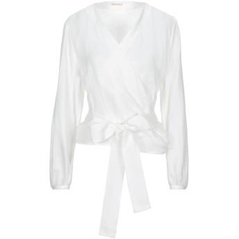 《セール開催中》TRUE ROYAL レディース シャツ ホワイト 42 麻 100%