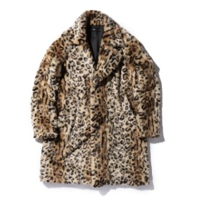 VAPORIZE VAPORIZE / Fake Fur Coat メンズ ステンカラーコート - S