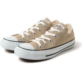 BEAMS LIGHTS CONVERSE / CANVAS ALL STAR COLORS OX レディース スニーカー BEIGE 6H