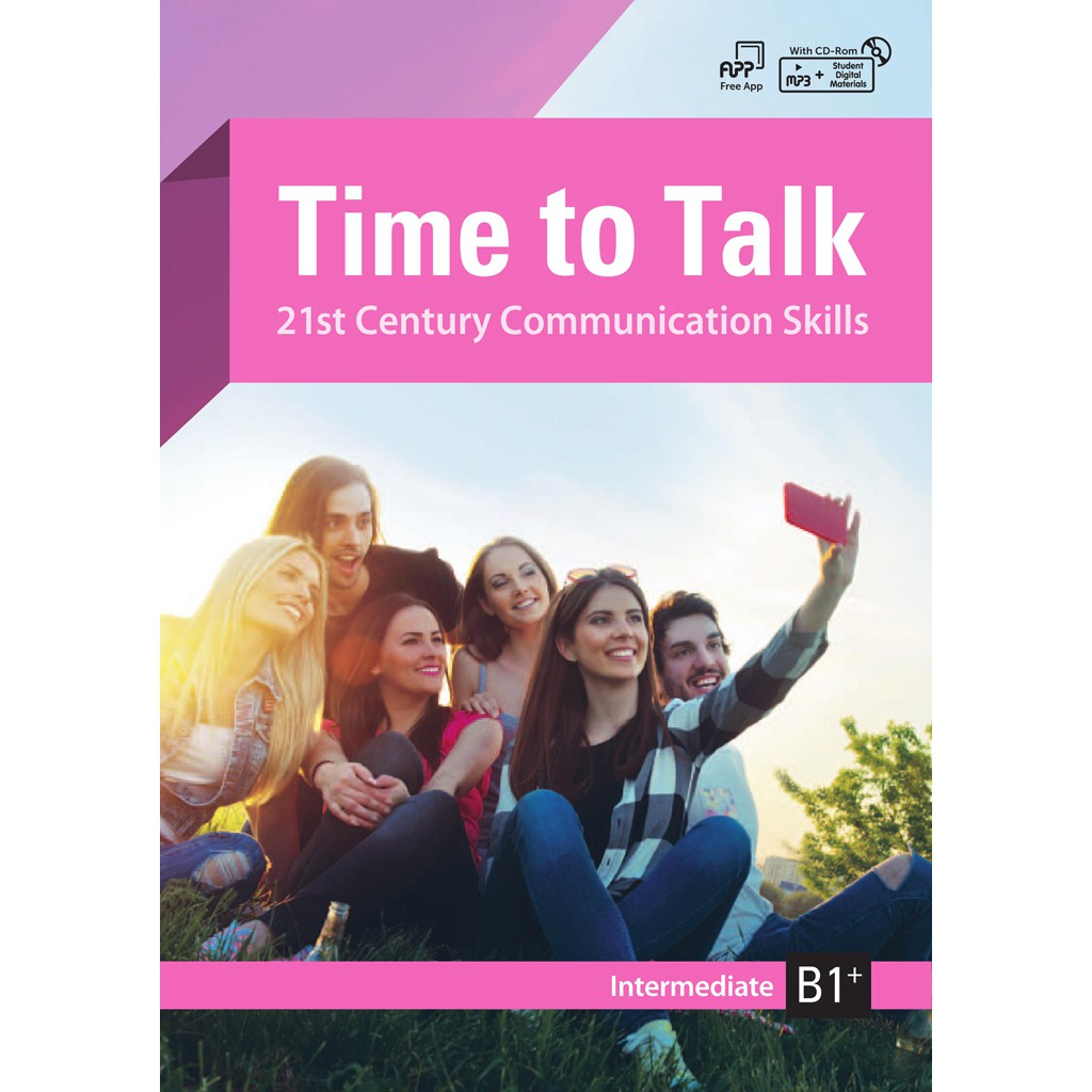 Time to Talk (B1+/Intermediate)(with CD-ROM)
