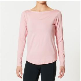 【オンワード】 Chacott(チャコット) バックドローストリングTシャツ ピンク M レディース