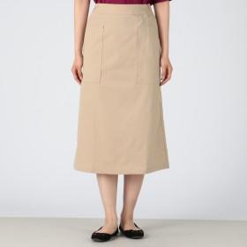 MELROSE CLAIRE(メルローズ クレール)/ドライタッチストレッチボックスシルエットスカート