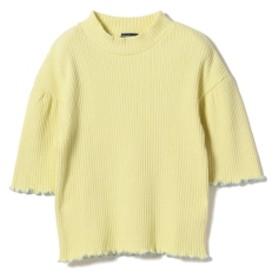 BEAMS mini BEAMS mini / モックネック フレアーTシャツ (130~150㎝) キッズ カットソー LEMON 150