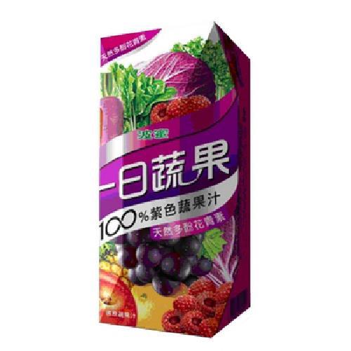 波蜜 一日蔬果100%紫色蔬果(250mlX6包/ 組)[大買家]