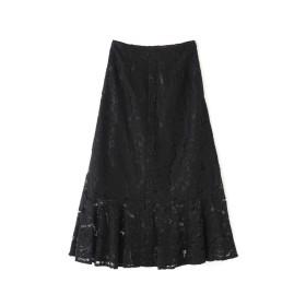 【公式/フリーズマート】レースマーメイドスカート/女性/スカート/ブラック/サイズ:FR/(外側)コットン 44% ナイロン 36% レーヨン 20%(内側)ポリエステル 100%