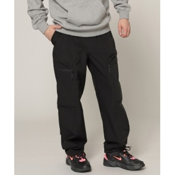 BEAMS BEAMS / ポリエステル ベイカー パンツ メンズ カジュアルパンツ BLACK S