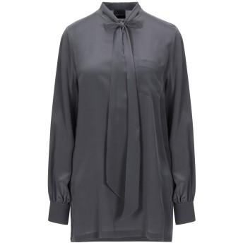 《セール開催中》GOTHA レディース シャツ 鉛色 1 シルク 100%