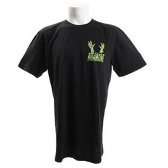 【Super Sports XEBIO & mall店:トップス】GRAVE DIG 半袖Tシャツ AT18S1039 BLACK