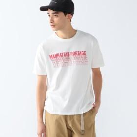 [マルイ] Manhattan Portage / ロゴ プリント Tシャツ/ビーミングライフストア(メンズカジュアル)(Bming lifestore MC)