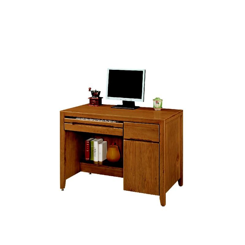 【EA342-35】一路發3.5尺實木辦公桌