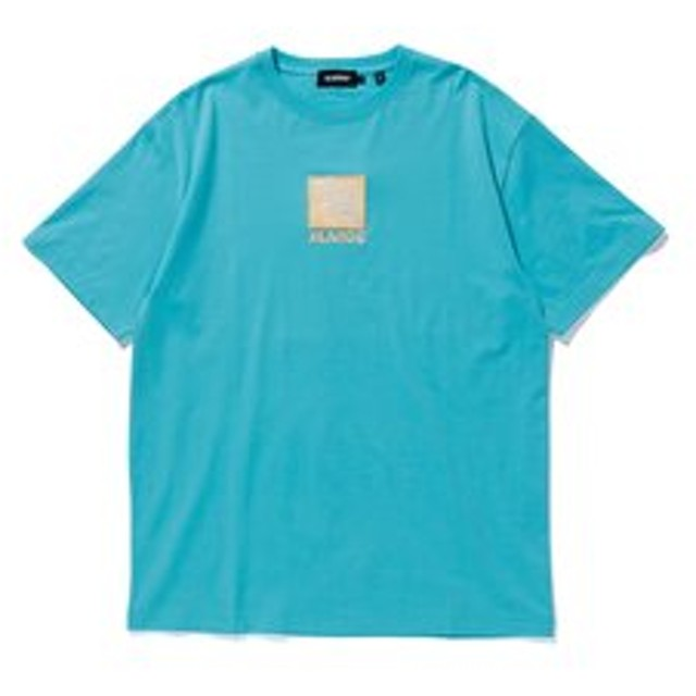 【XLARGE:トップス】S/S TEE EMBROIDERY SQUARE OG
