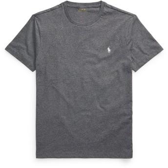 《セール開催中》POLO RALPH LAUREN メンズ T シャツ グレー S コットン 100% CUSTOM SLIM FIT T SHIRT
