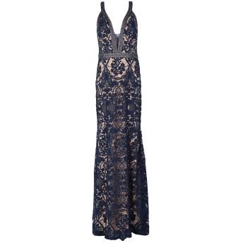 《セール開催中》FOREVER UNIQUE レディース ロングワンピース&ドレス ダークブルー 12 ポリエステル 100% / ナイロン