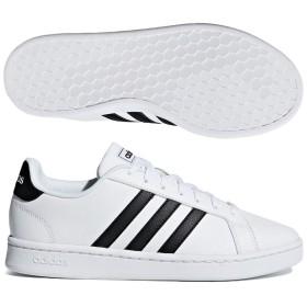 アディダス (adidas) ウィメンズ GRANDCOURT LEA W(ランニングホワイト×コアブラック) F36483 [分類:レディースファッション スニーカー ローカット] 送料無料