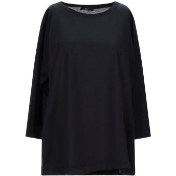 《セール開催中》YSM ESSENTIAL レディース T シャツ ブラック 40 コットン 100%