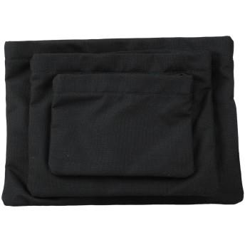 《セール開催中》MAISON MARGIELA メンズ ハンドバッグ ブラック ポリウレタン 100%