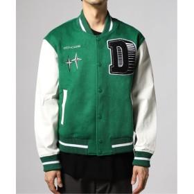 JOURNAL STANDARD DONCARE LOGO Varsity Jacket グリーン M