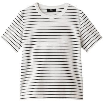 THE RERACS ザ・リラクス 【予約販売】ベーシックTシャツ ホワイトボーダー