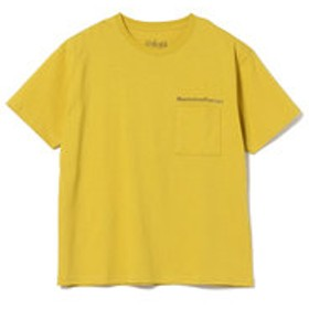 【B:MING LIFE STORE by BEAMS:トップス】Manhattan Portage / プリント ポケット Tシャツ