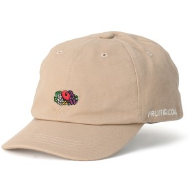 FRUIT OF THE LOOM FTL LOGO EMB LOW CAP キャップ,ベージュ